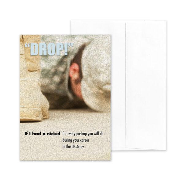 If I Had - US Army Military Appreciation Encouragement Greeting Card - by 2MyHero