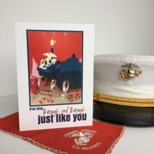 2MyHero military greeting cards wishes a Happy Birthday to USMC