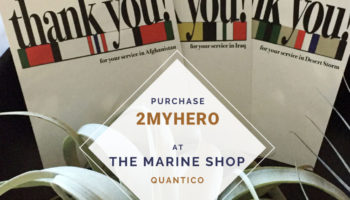 2MyHero military greeting cards for Veteran's Day