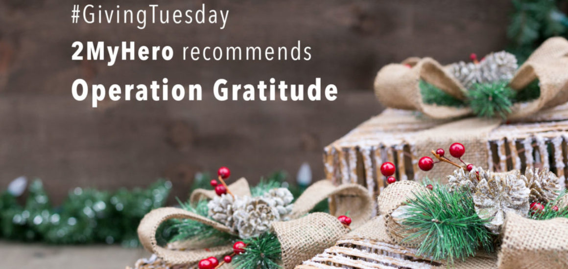 2MyHero military greeting cards recommendation for #givingTuesday 2018