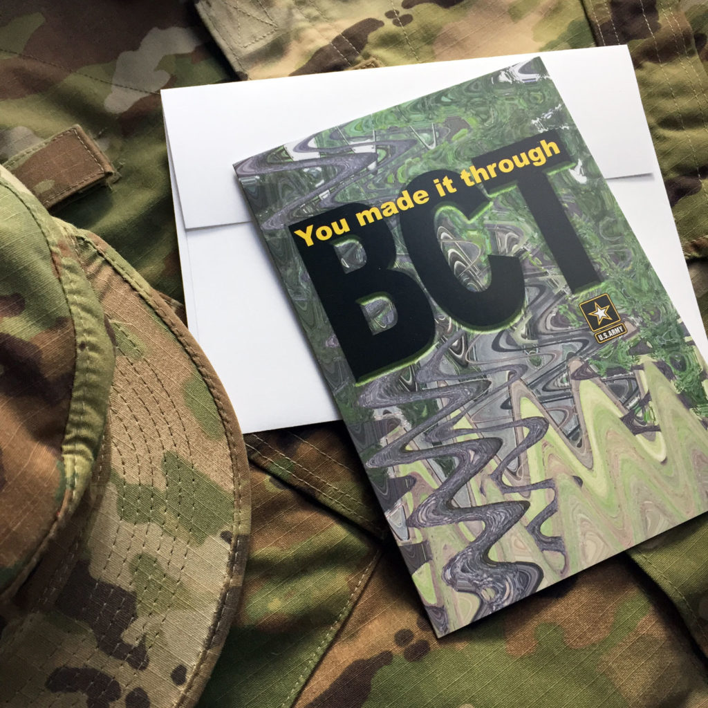 2MyHero military greeting cards for US Army