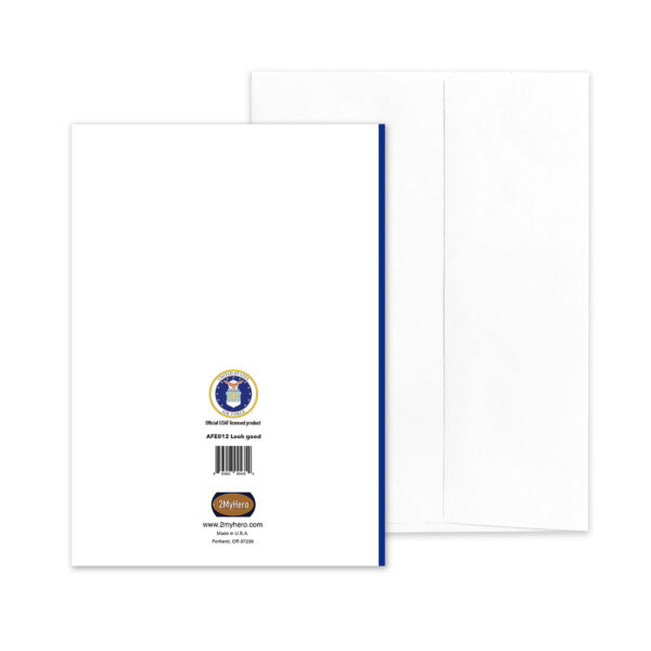 Look Good - US Air Force Military Encouragement Greeting Card by 2MyHero