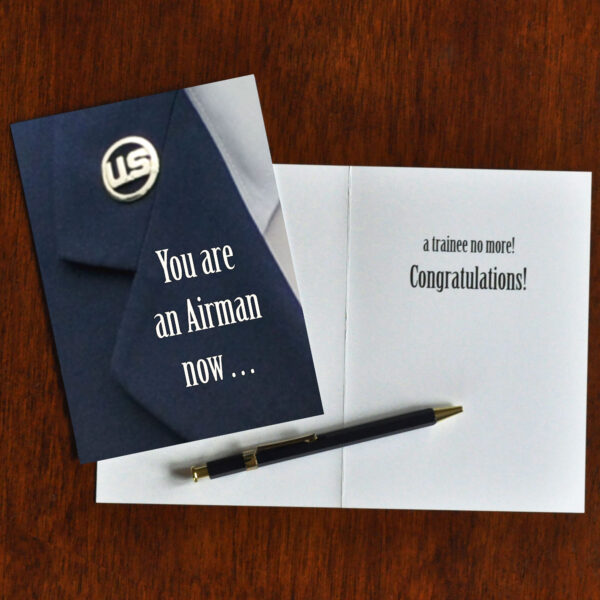 An Airman Now - USAF Military Encouragement Greeting Card by 2MyHero