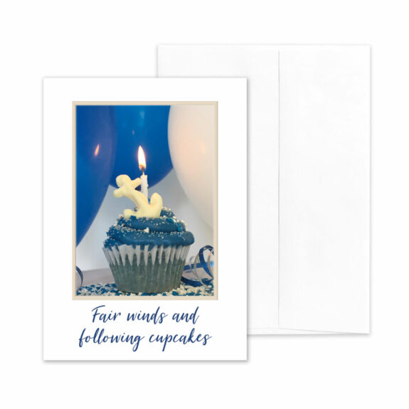 Sweet Birthday - US Navy Military Appreciation Birthday Greeting Card - by 2MyHero