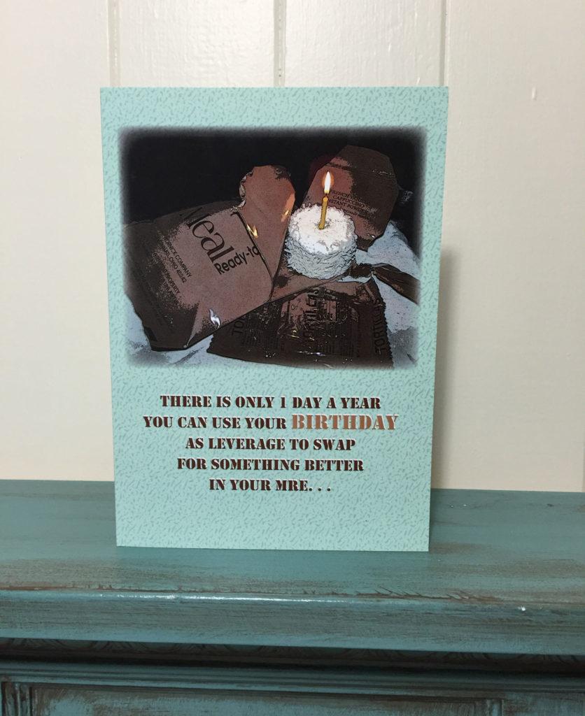 2MyHero military birthday greeting card2MyHero military birthday greeting card