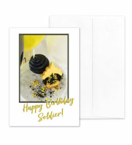 Style - US Army Military Appreciation Birthday Greeting Card - by 2MyHero