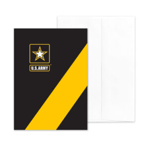 Look Good - (Blank Inside) - US Army Military Appreciation Encouragement Greeting Card - by 2MyHero