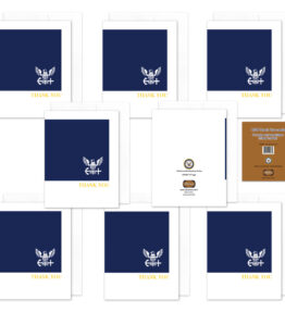 2MyHero - US Navy Thank You box of notecards 8 blank note cards and 8 envelopes