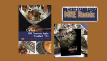 MRE Remix - cooking with MRE's on YouTube by 2MyHero military greeting cards