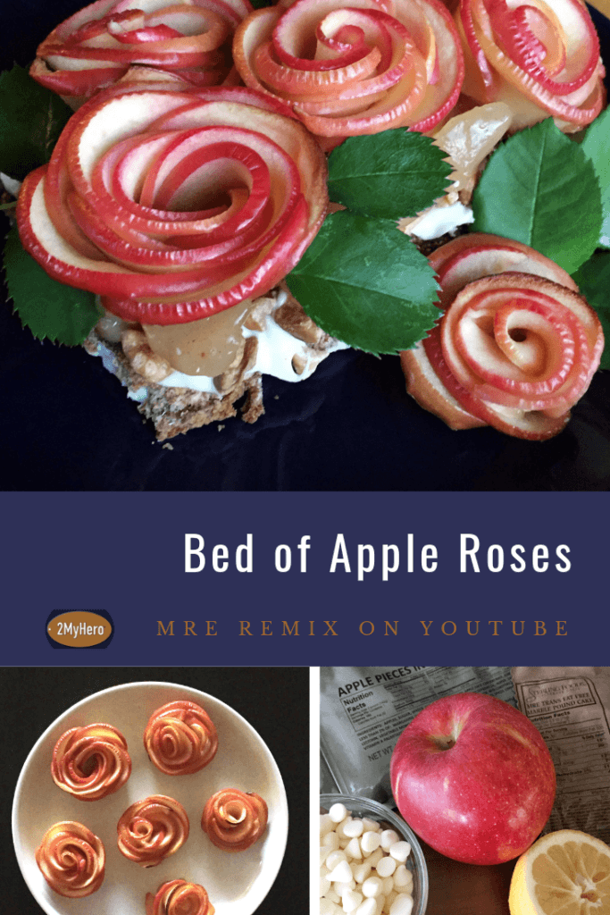 Bed of Apple Roses - MRE Remix for 2MyHero military greeting cards
