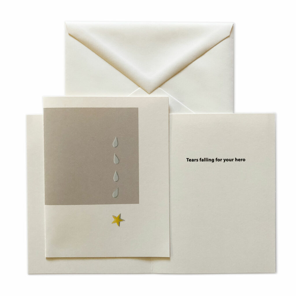 2MyHero military sympathy greeting card mixed pack 20% off on Amazon.