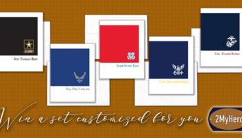 2MyHero Yours Truly Giveaway for military greeting cards