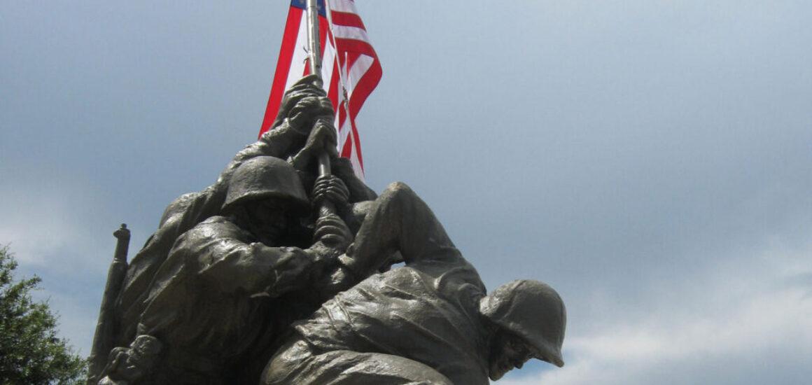 2MyHero military greeting cards for US Marine Corps at Iwo Jima