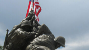 2MyHero military greeting cards for US Marine Corps at Iwo Jima
