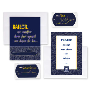 2MyHero military greeting cards deployment and encouragement greeting cards for US Navy