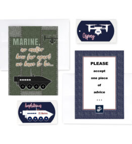 2MyHero military greeting cards deployment and encouragement greeting cards for US Marines