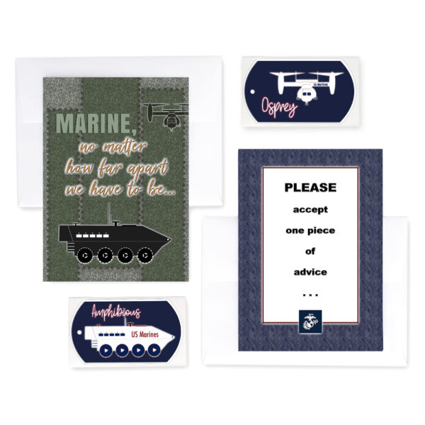 2MyHero military greeting cards deployment and encouragement for US Marines