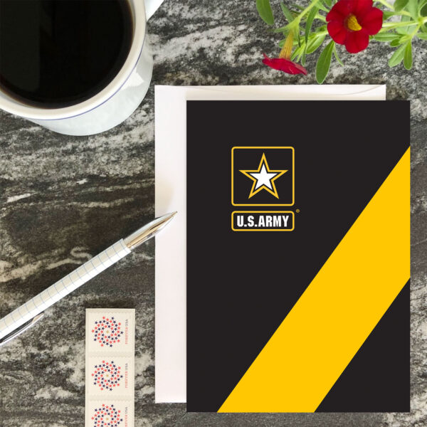 Look Good - US Army Military Appreciation Encouragement Greeting Card - by 2MyHero
