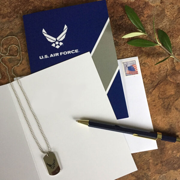 US Air Force military appreciation greeting card for Airmen - Look Good - by 2MyHero - includes envelope