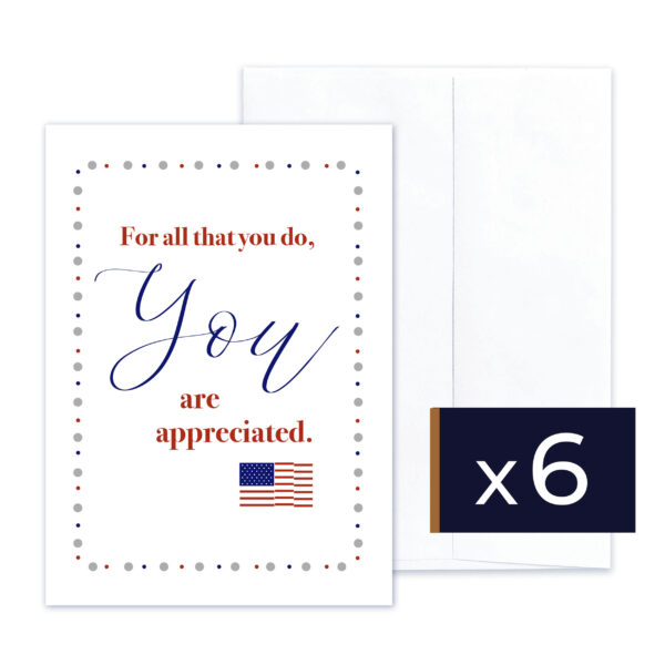 Military Spouse Appreciation - military greeting card and envelope - by 2MyHero